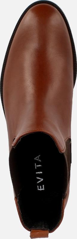 EVITA Damen Reiterstiefelette RITA Verschleißfeste billige Schuhe