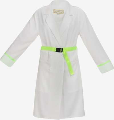 MYMO Summer Coat in Neon green / White, Item view