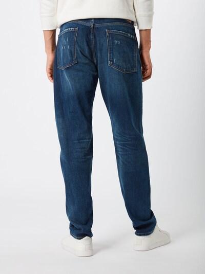 Džinsai 'CALLEN' iš Pepe Jeans , spalva - tamsiai (džinso) mėlyna: Vaizdas iš galinės pusės