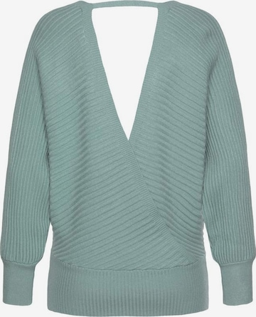 LASCANA Pullover in Grün
