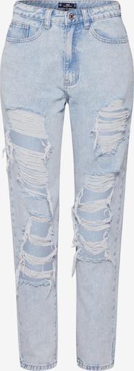 Jeans Missguided pe denim albastru, Vizualizare produs