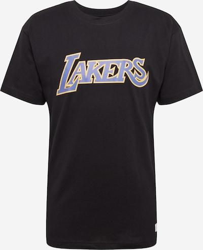 Mitchell & Ness T-Shirt en violet / noir, Vue avec produit