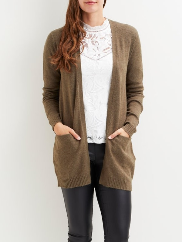 Vila Open Knitted Cardigan