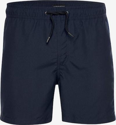 CHIEMSEE Boardshorts in marine / cyanblau / grau, Produktansicht