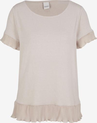 Maglietta heine di colore beige / cipria, Visualizzazione prodotti