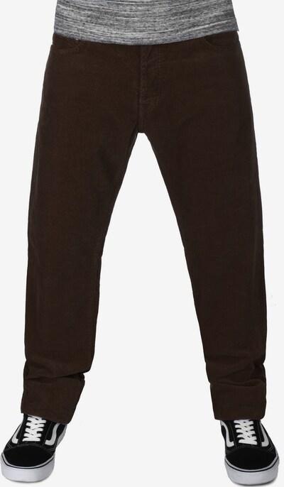 Carhartt WIP Jeans ' Klondike ' in dunkelbraun, Modelansicht