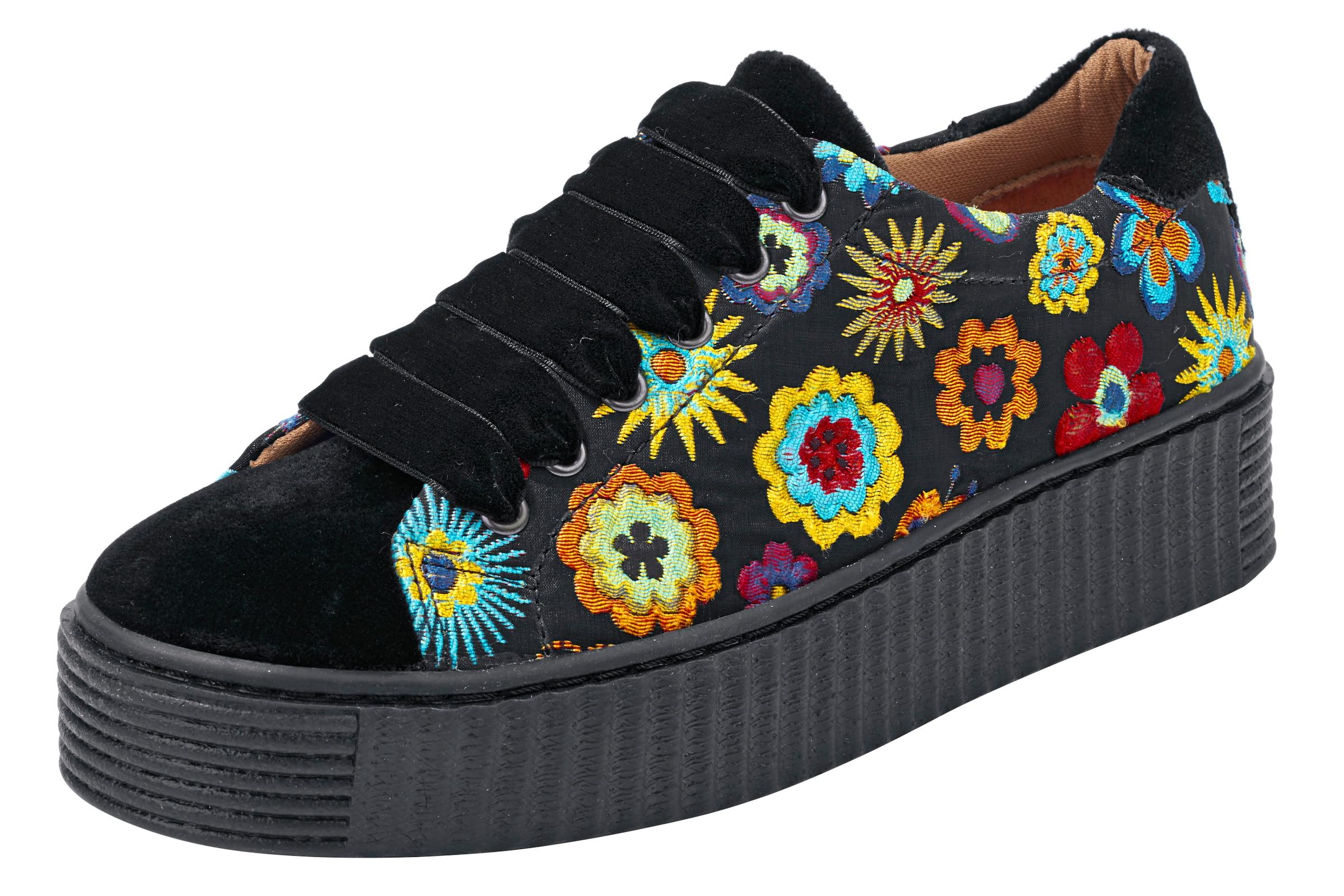 heine | Turnschuhemit Blumen Blumen Turnschuhemit 0e8465