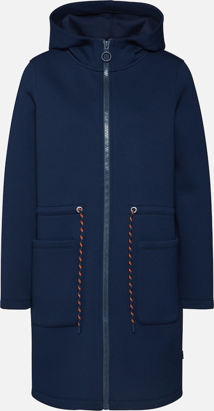 Marc O'Polo DENIM Tussenparka in de kleur Navy, Productweergave