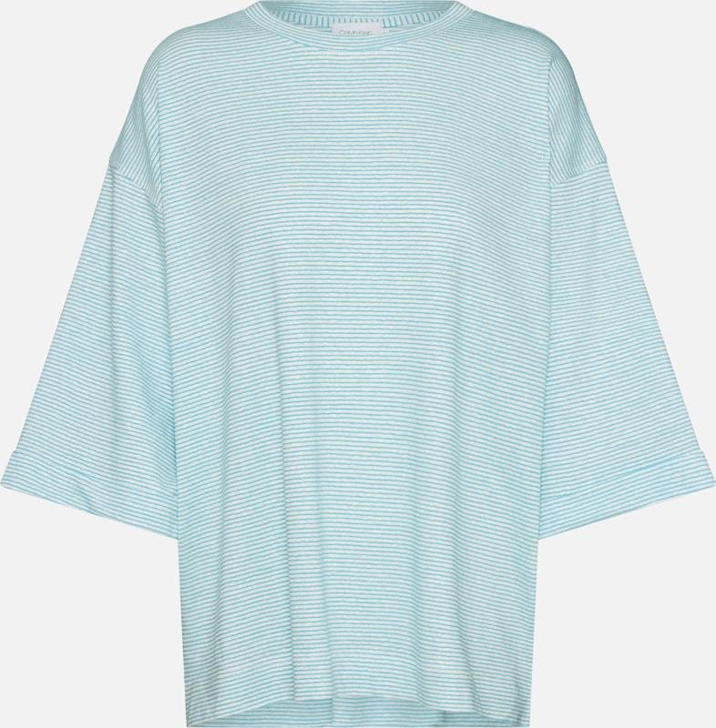 shirt En Calvin T Klein Azur qSUzVMp