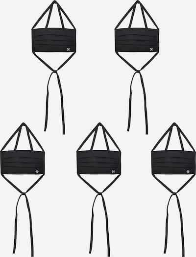 Grubenhelden Maska z materiału '5er Pack' w kolorze czarnym, Podgląd produktu