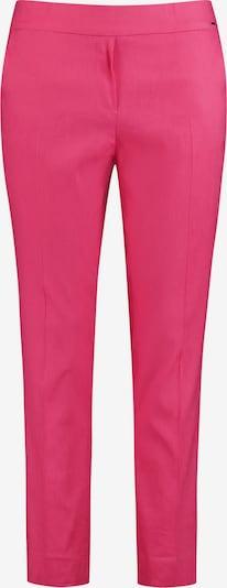 SAMOON Hose Freizeit verkürzt 7/8 Hose Greta aus Leinen-Mix in pink, Produktansicht