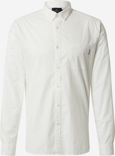 SCOTCH & SODA Chemise en blanc chiné: Vue de face