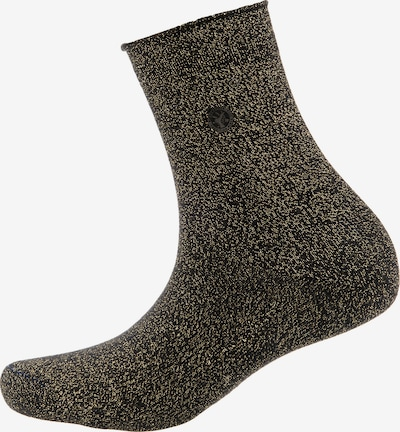 BIRKENSTOCK Socken in gold / schwarz, Produktansicht