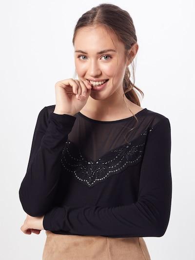 ABOUT YOU T-Krekls 'Sybille' pieejami melns: Priekšējais skats