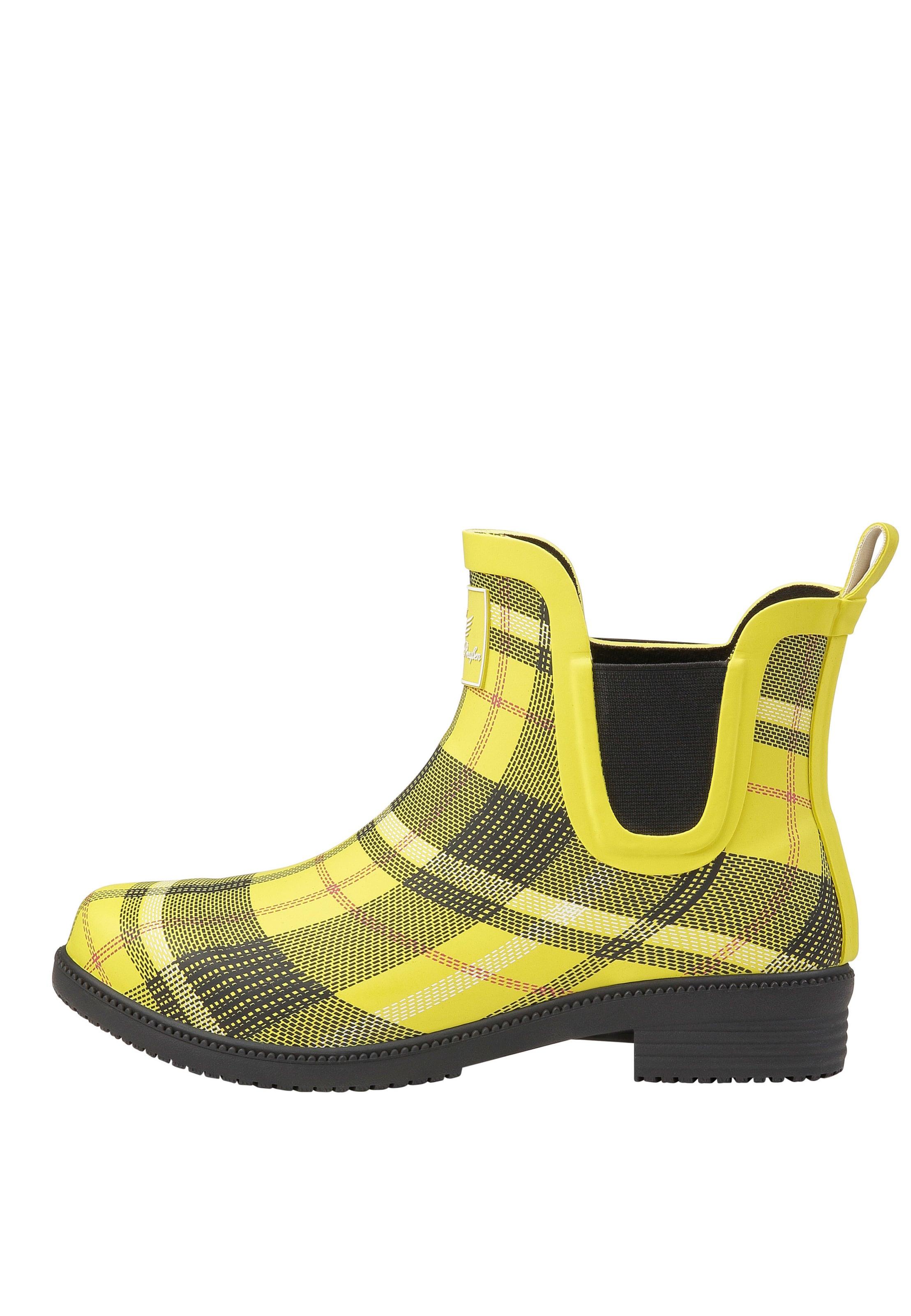 Fritzi aus Preußen Gummistiefelette 'Ewa' in gelb