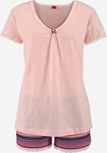 s.Oliver Bodywear Shorty in rosa, Produktansicht