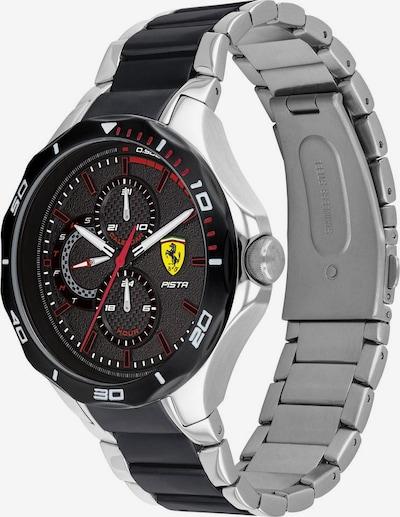 Scuderia Ferrari Sportuhr in schwarz / silber, Produktansicht