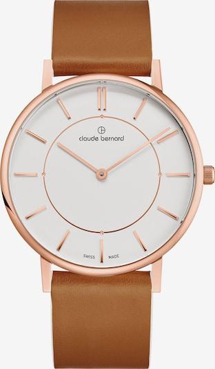 Claude Bernard Uhr '20219 37RC Airr' in braun / rosegold, Produktansicht