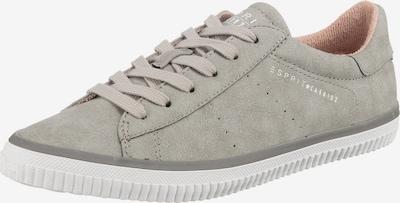 ESPRIT Sneaker 'Riata' in grau / weiß, Produktansicht
