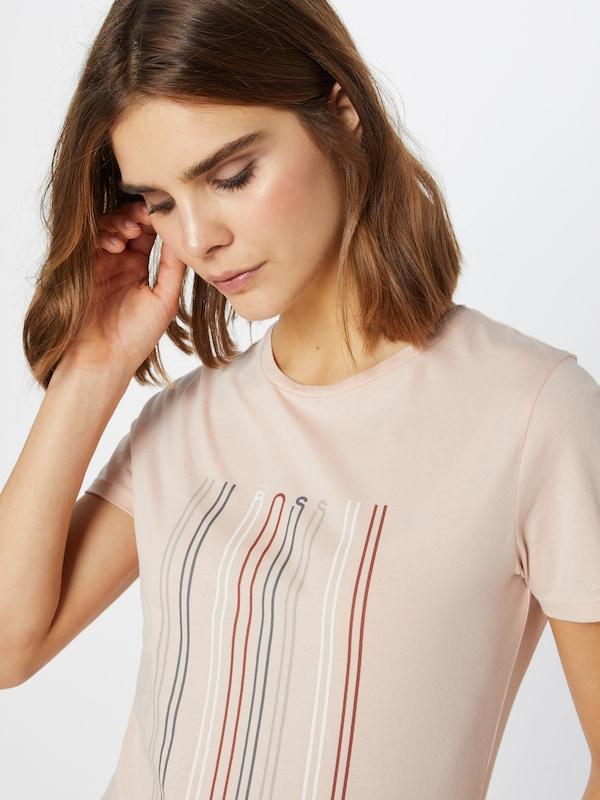 BOSS Shirt 'TeBlaurrot' 'TeBlaurrot' 'TeBlaurrot' in Rosa  Mode neue Kleidung eaaf7a