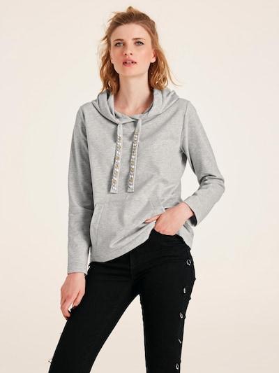 heine Sweatshirt in hellgrau: Frontalansicht