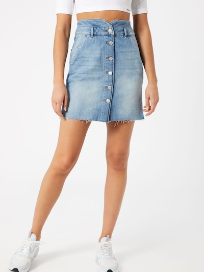 VERO MODA Rock in blue denim: Frontalansicht