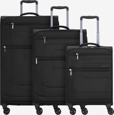 March15 Trading Kofferset in schwarz, Produktansicht
