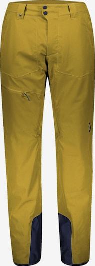 SCOTT Skihose in gelb / schwarz, Produktansicht