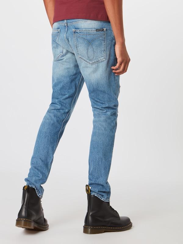 Skinny Jean Denim Klein Jeans Calvin 'ckj 015 Rigid' En Bleu N8n0mwvO
