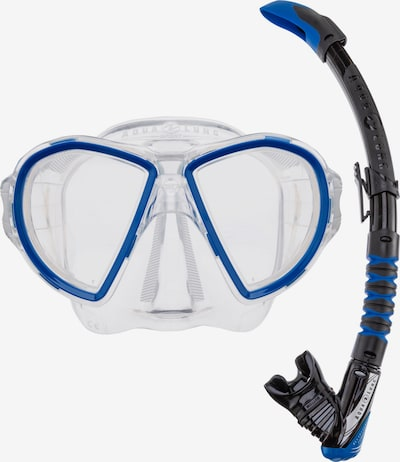 Aqua Lung Sport Schnorchelset 'Combo Duetto' in blau / black denim, Produktansicht