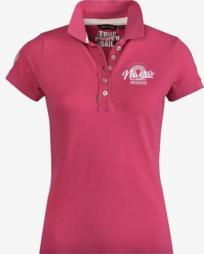 CODE-ZERO Polo 'SS Nacra Multihull' in pink / weiß, Produktansicht
