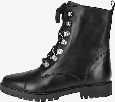 COX Schnürstiefelette mit rockigem Style in schwarz, Produktansicht