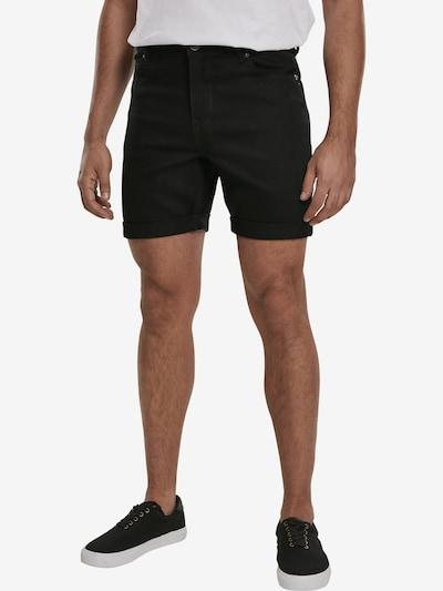 Urban Classics Shorts in schwarz, Modelansicht