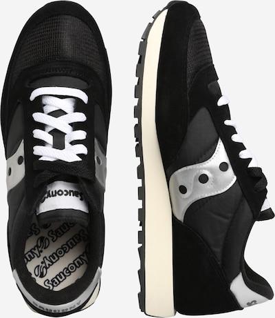 saucony Sneaker 'JAZZ ORIGINAL VINTAGE' in schwarz / weiß: Seitenansicht