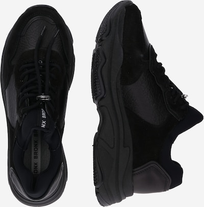 BRONX Sneakers laag 'Baisley' in de kleur Zwart: Zijaanzicht