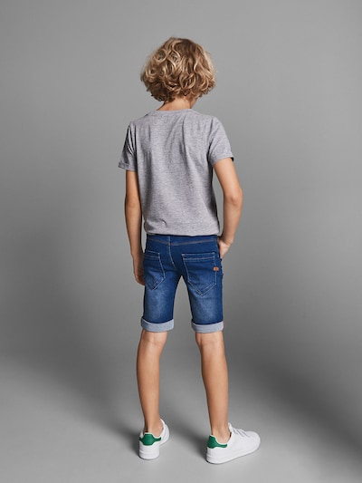 NAME IT Shorts 'SOFUS DNMTAX' in blue denim: Frontalansicht