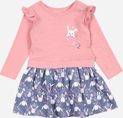 BLUE SEVEN Kleid in mauve / pink / weiß, Produktansicht