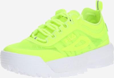 FILA Sneakers laag 'Disruptor' in de kleur Limoen, Productweergave