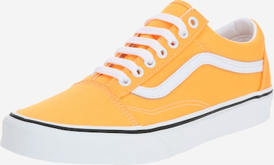 VANS Baskets basses 'Old Skool' en orange / blanc, Vue avec produit