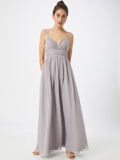 Laona Abendkleid in flieder / silber, Modelansicht