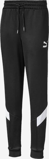 PUMA Hose 'Iconic MCS' in schwarz / weiß, Produktansicht