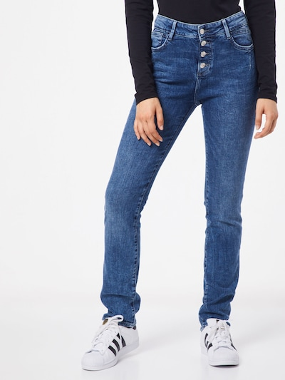 s.Oliver Jeans 'SMART STRAIGHT' in blue denim, Modelansicht