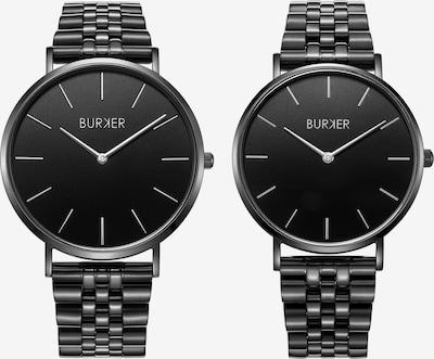 BURKER Watches Analoog horloge 'Adam & Eve Black Limited Edition' in de kleur Zwart, Productweergave