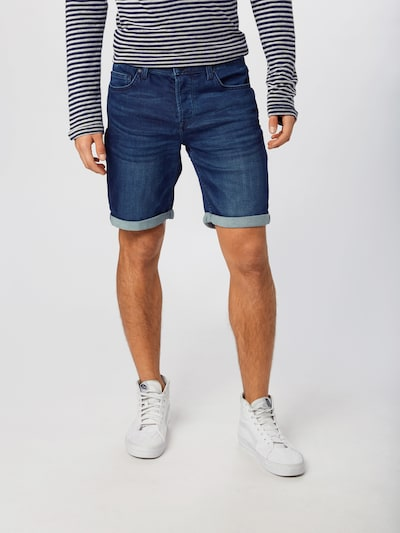 Only & Sons Jeansshorts in blau, Modelansicht