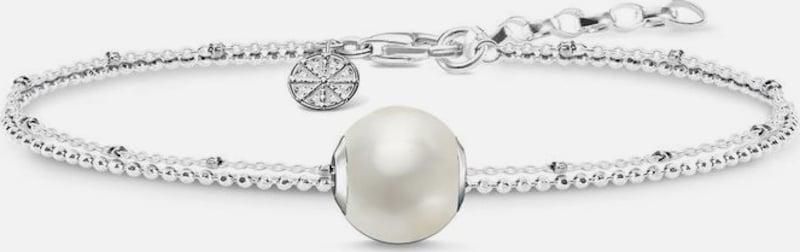 Thomas Sabo Charm-Armband Set 'Perle, SET0353-082-14-L19v' (Set, 2 tlg.)