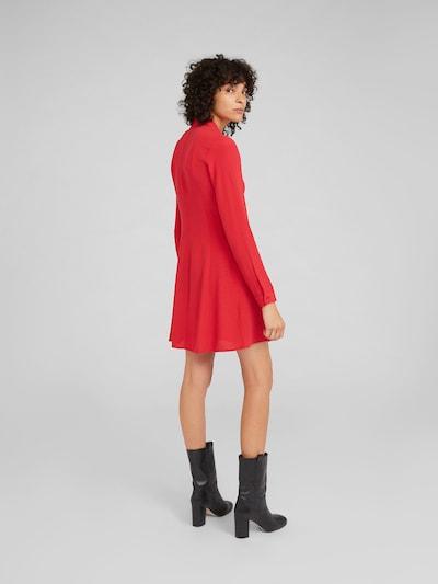 EDITED Kleid 'Fritza' in rot: Rückansicht
