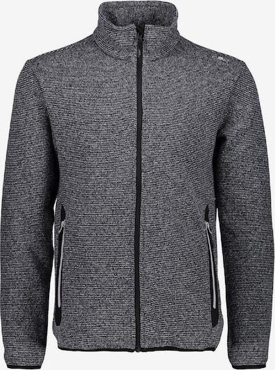 CMP Jacke 'Knitted Jersey Jacke' in dunkelgrau, Produktansicht