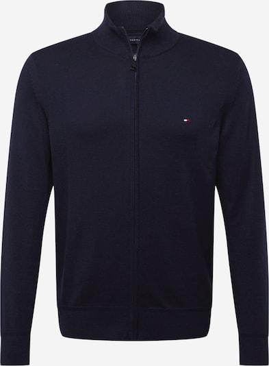 TOMMY HILFIGER Strickjacke in navy: Frontalansicht