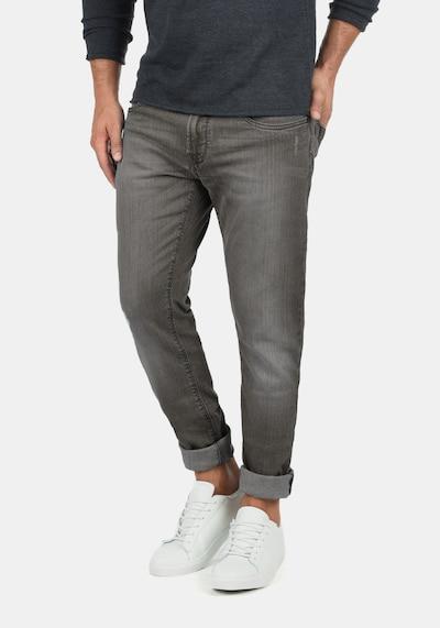 INDICODE JEANS 5-Pocket-Jeans 'Quebec' in grau / grey denim / dunkelgrau, Modelansicht