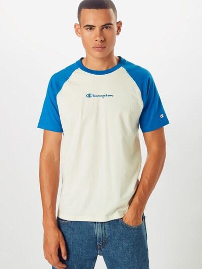 Champion Authentic Athletic Apparel Tričko - modrá / biela: Pohľad spredu